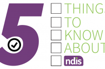 5 things to know about NDIS