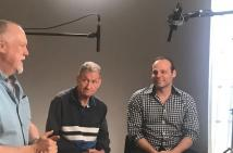 Terry and Anthony from VALID being being filmed