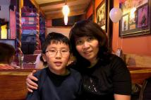 Mother Thuc and Son William