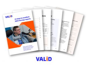 10 steps NDIS therapy reports