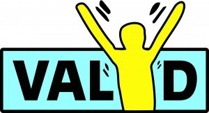VALID Having a Say conference logo