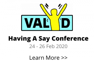 Having Say Conference Banner
